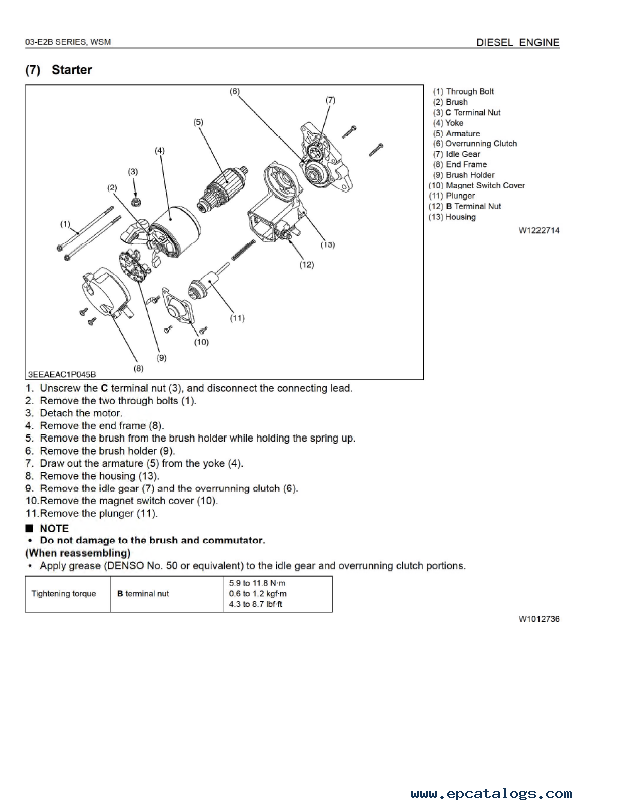 Kubota Parts Diagram | Kubota Diesel Engine Parts Diagram Kubota Tractors Construction