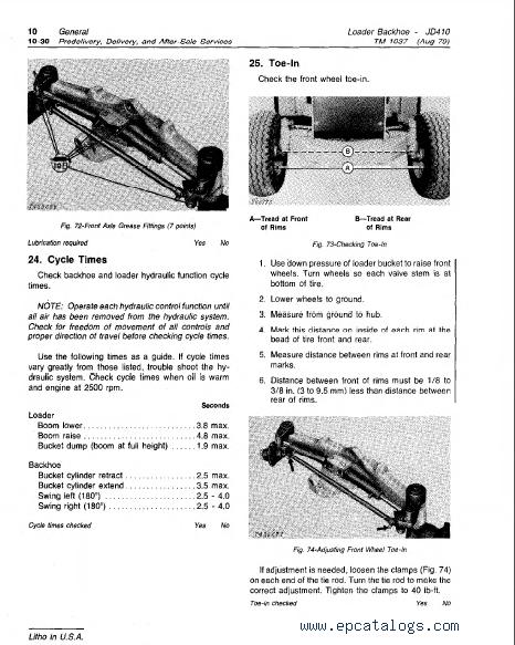 john deere backhoe loader tm technical manual pdf repair deere 410 backhoe loader tm1037 technical manual pdf 2 enlarge