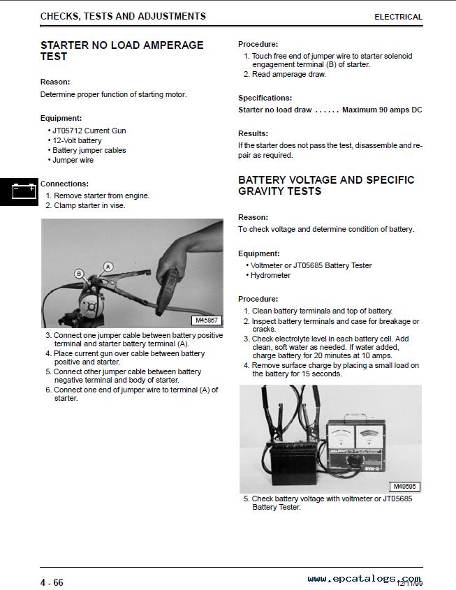 Repair Manual John Deere F735 Front Mower Tm1597 Techical Pdf 4: John Deere F735 Wiring Diagram At Shintaries.co