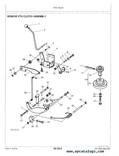 32 John Deere 116 Parts Diagram