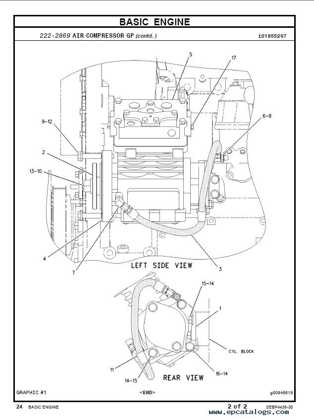 Caterpillar C Industrial Engine Parts Manual Pdf on basic engine wiring diagram