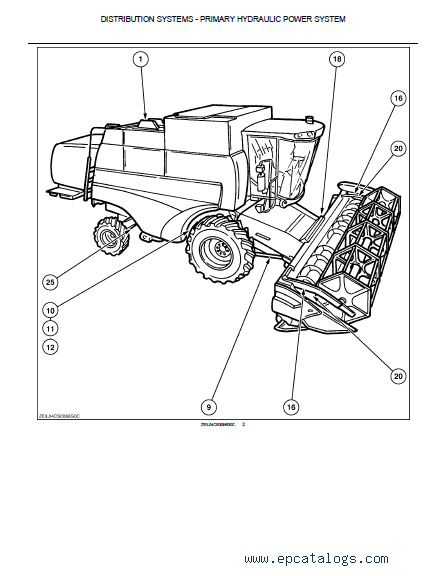 New Holland Cs6050 Harvester Pdf Manuals   Diagrames