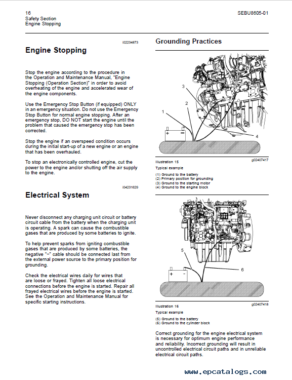 download perkins engine 1204e series operation maintenance rh epcatalogs com Operation and Maintenance Manual Gilbert perkins operation and maintenance manual 400a and 400d industrial engines