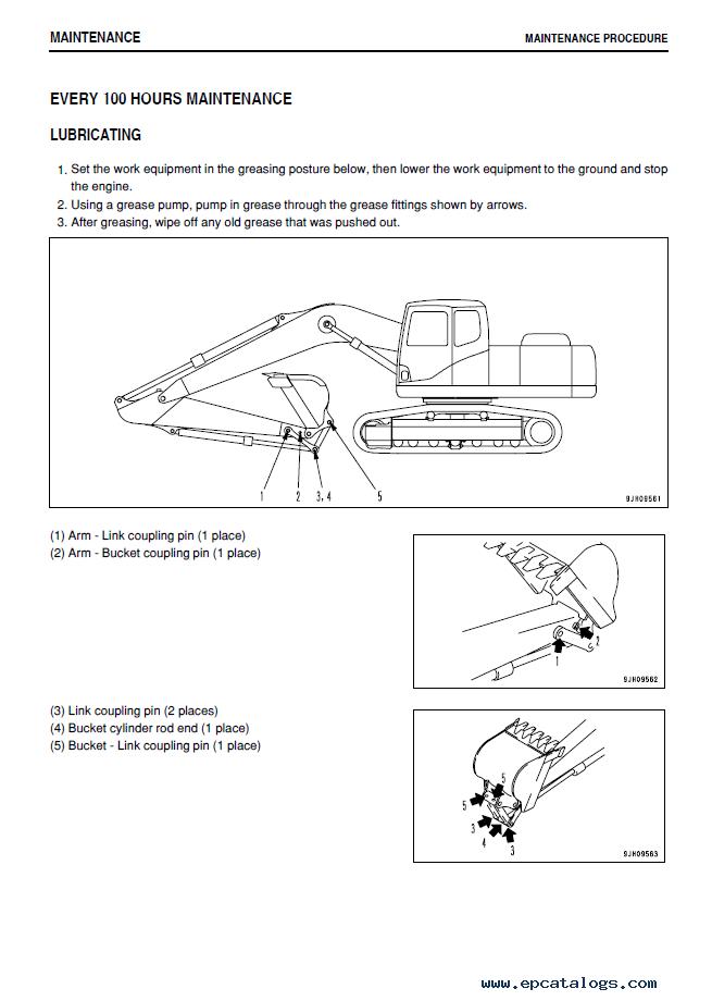 Komatsu Hydraulic Excavator Pc160lc