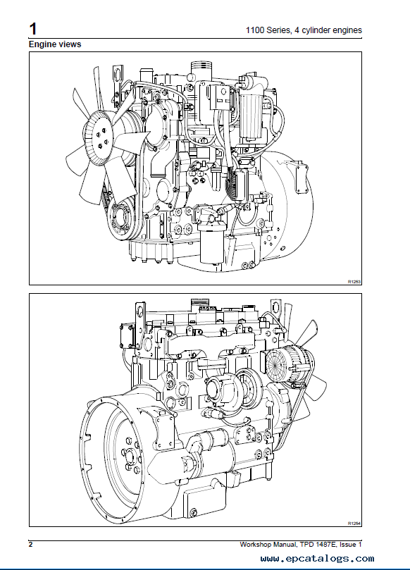 Download Jcb Perkins 1100 Series Engines Workshop Manual Pdf