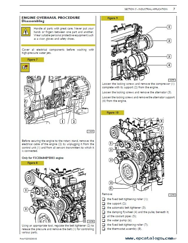 New Holland Fr 9060 Compound Turbo: Case IH 12.9L Turbo Compound Engine Manual Download