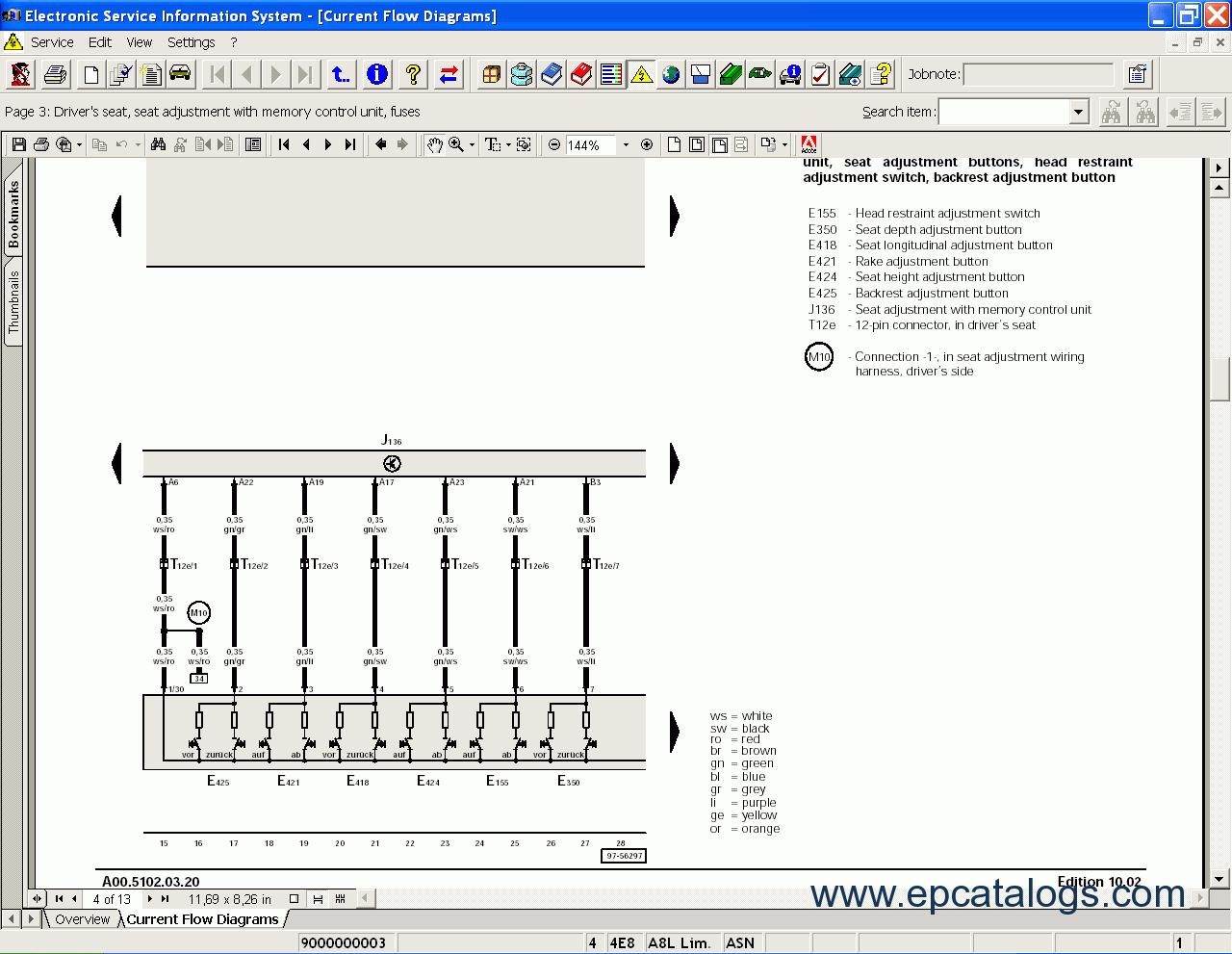 Elsa 3 9 Volkswagen Electronic Service Information System