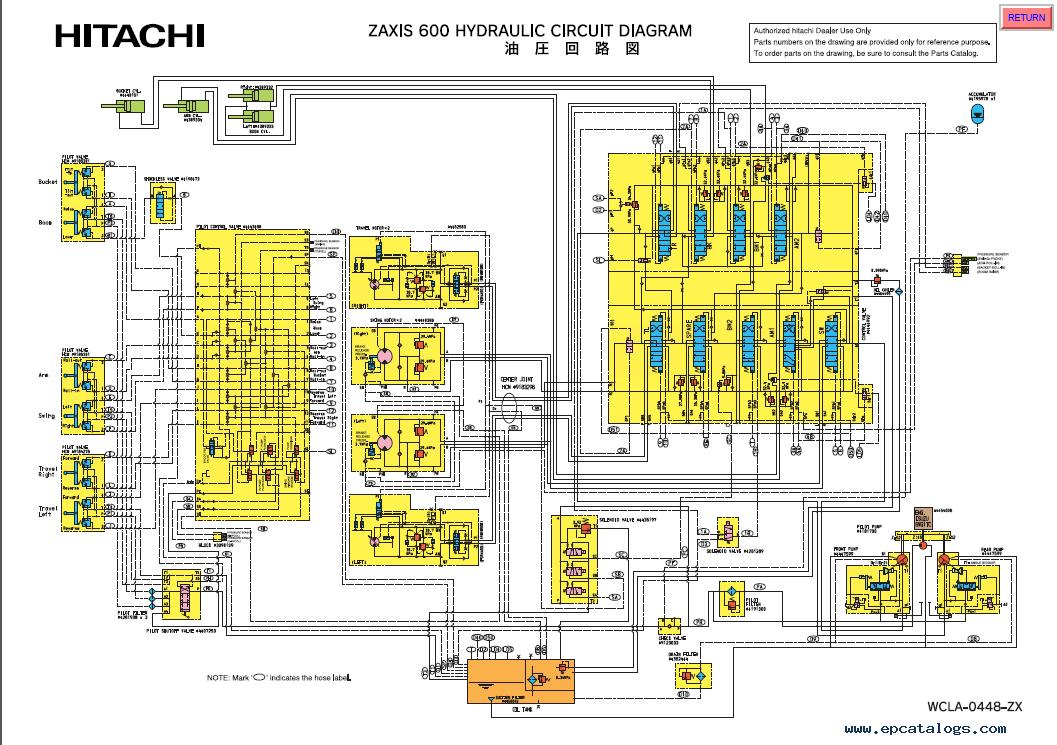 Hitachi Zaxis Hydraulic Excavators Service Manual Pdf Download