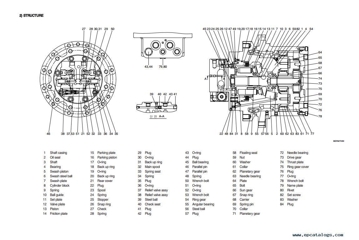 repair manual Hyundai R80CR-9 Crawler Excavator Service Manual - 2