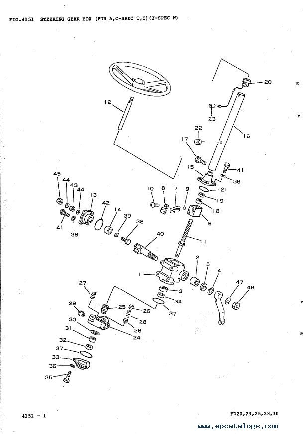 komatsu forklifts fd series parts books pdf