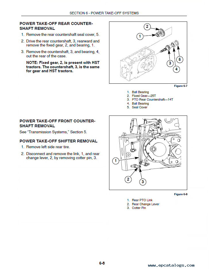 New Holland Tc33 Tc33d Tractors Pdf Manual