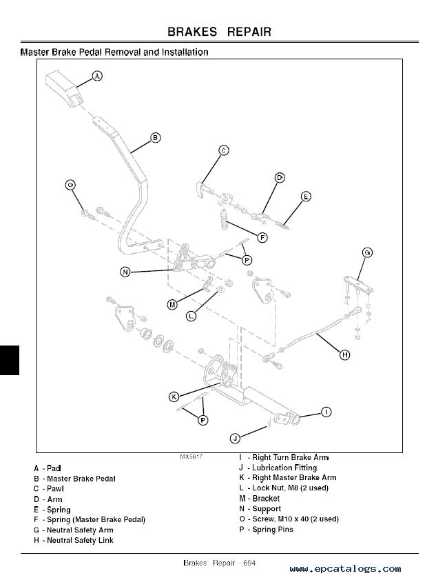 John Deere Model 1445 Wiring Diagram
