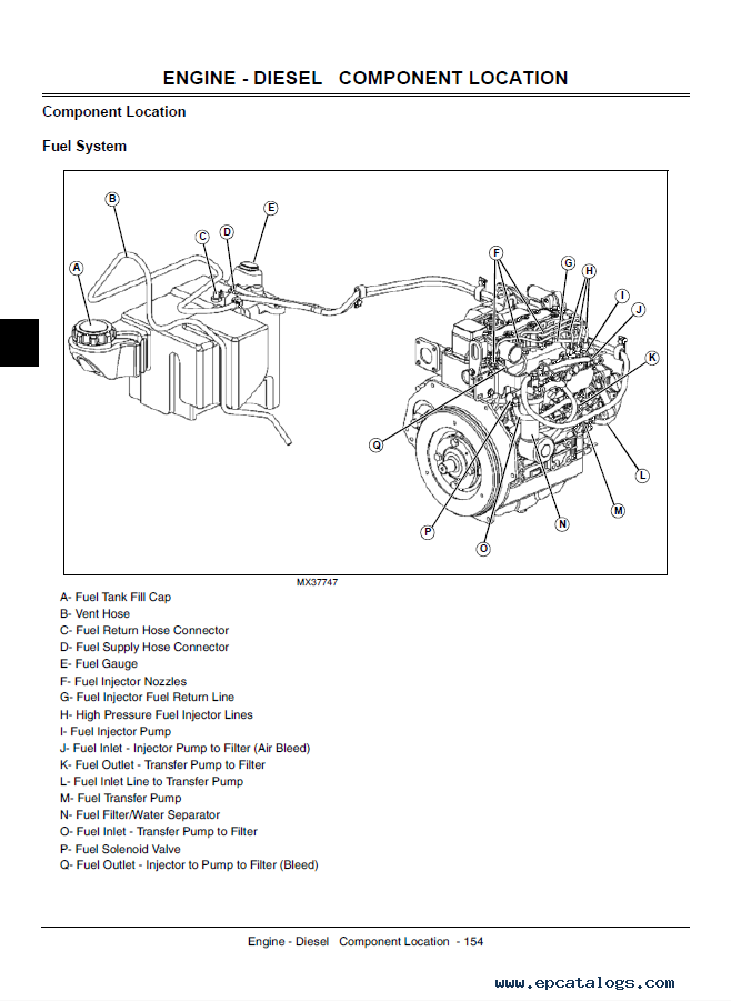 john deere gator utility vehicle ts th 6x4 th 6x4 diesel technical manual t john deere gator utility vehicle ts, th 6x4 diesel tm2239 john deere gator 6x4 wiring diagram at panicattacktreatment.co