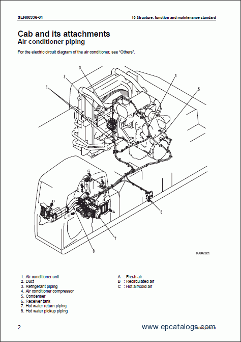 komatsu excavator pc800  850 lc
