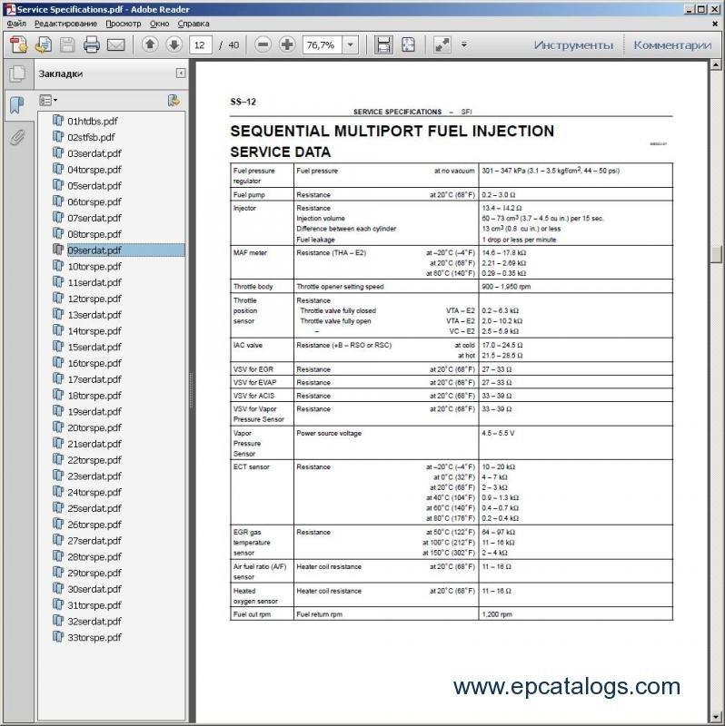 92 lexus es300 Repair Manual