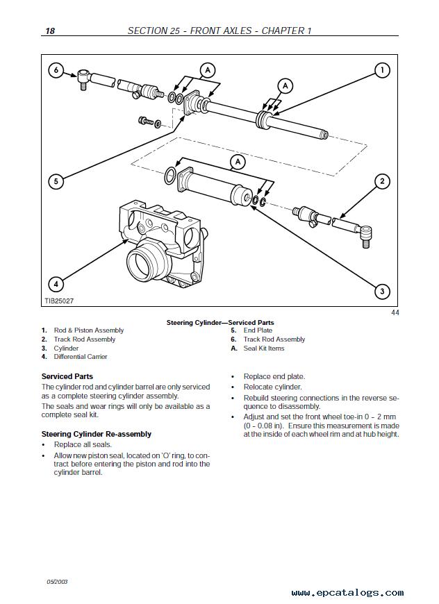 Fiat Kobelco B95-B100-B110B-B200 4WS FB100 2-FB110 2-FB200 2 4WS Repair  Manual PDF