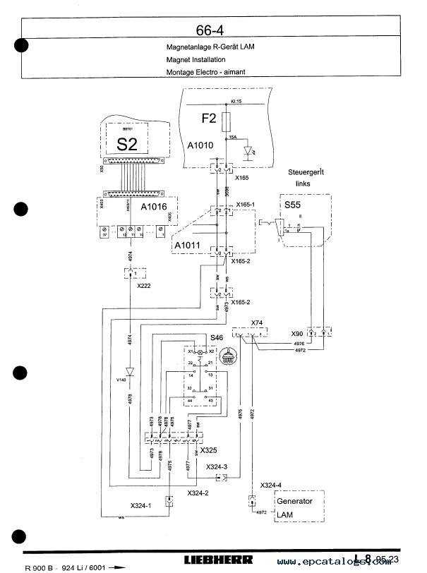 repair manual liebherr r900b / r904, r914 / r924, r934 / r944, r934b