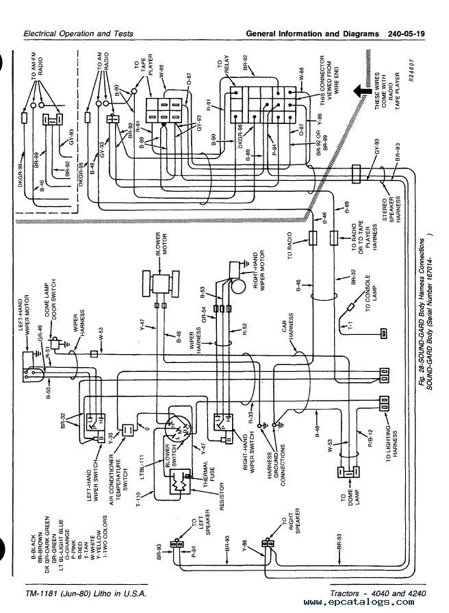 Diagram  John Deere 4640 Wiring Diagram Full Version Hd