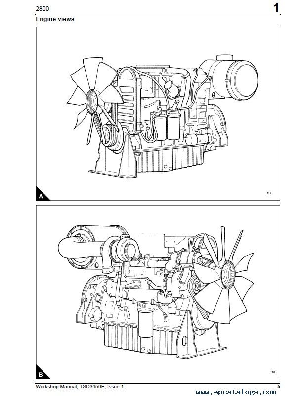Perkins 2806c E16 Diesel Engines Workshop Manual Pdf