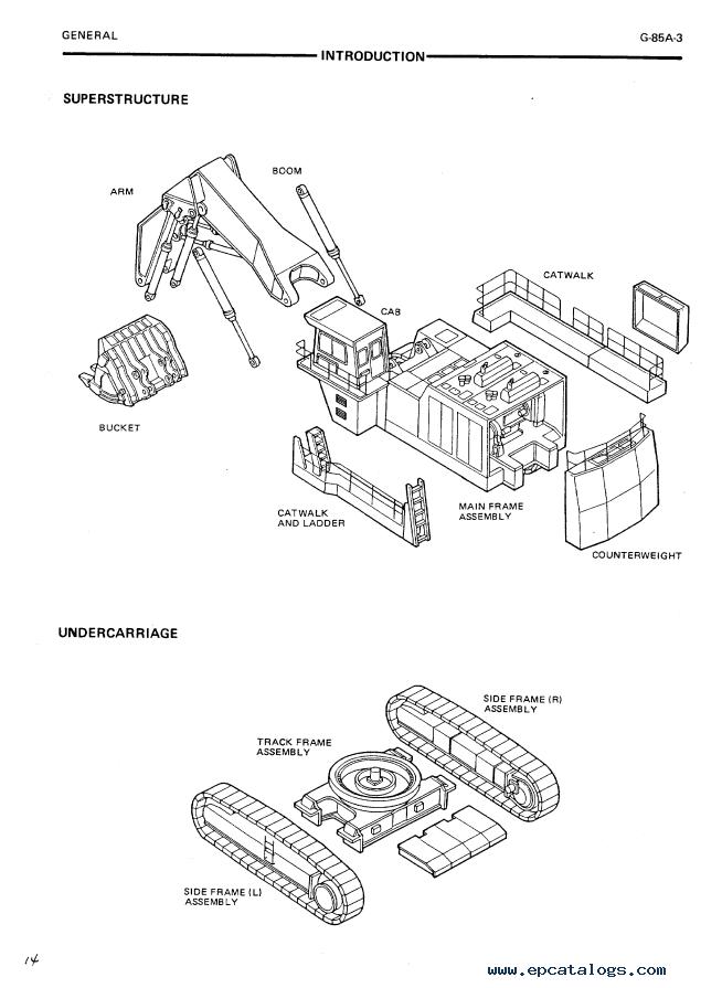 Hitachi Ex1800 2 Excavator Service Manual Pdf