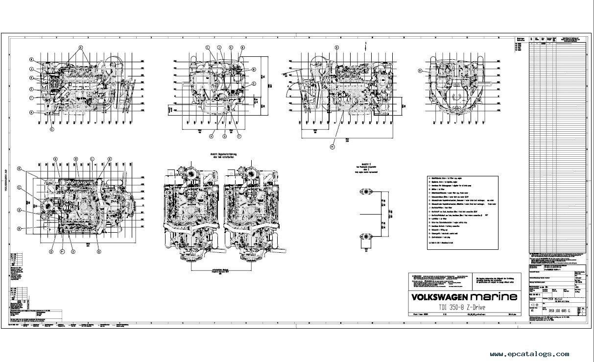 repair manual Volkswagen VW Marine TDI Boat Workshop Service Manuals PDF - 9