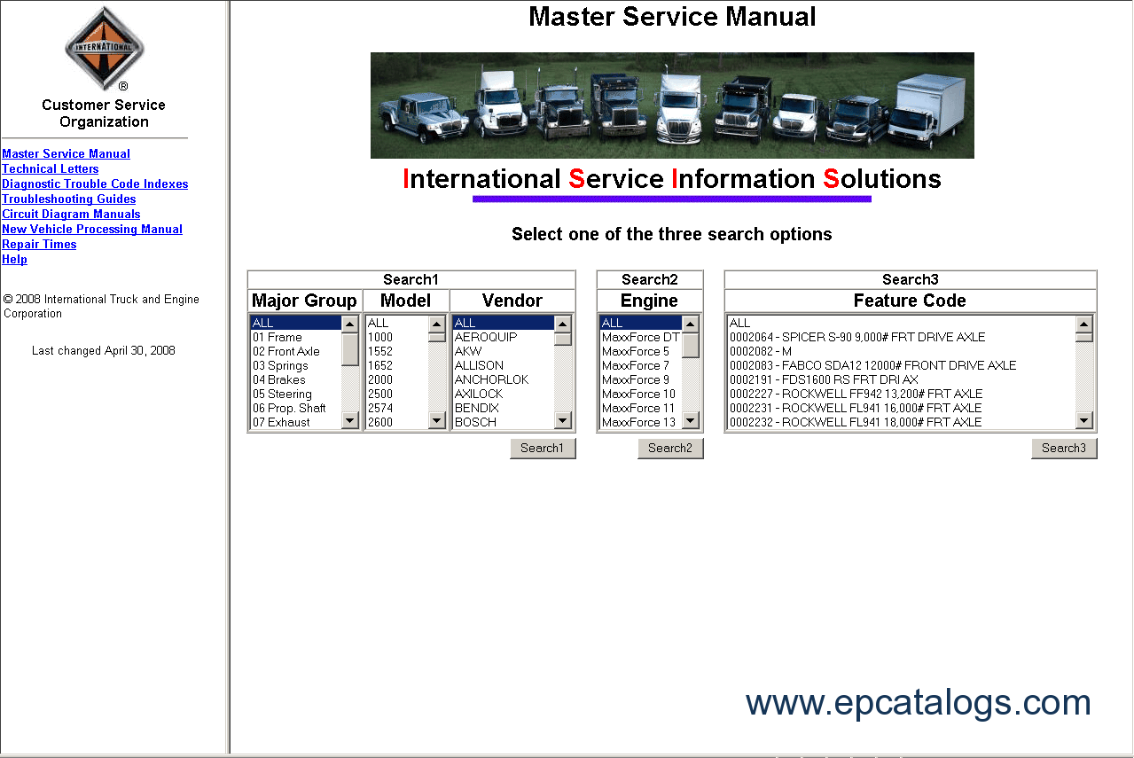 International Truck ISIS repair manual buy international truck isis 2012, repair manual, trucks buses repair international truck wiring diagram manual at gsmx.co