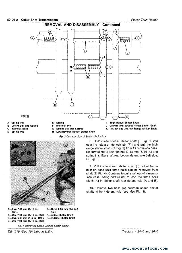 john deere 2440 2640 tractors technical manual tm1219 pdf wiring diagram for john deere 2440 john deere wiring diagrams John Deere 2240 Wiring-Diagram at n-0.co