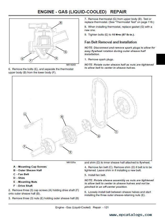 john deere x x x x x lawn garden tractor tm enlarge repair manual john deere x465 x475 x485 x575 x585 lawn garden tractor tm2023 technical manual
