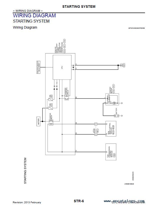 nissan murano  murano cross cabriolet model z51 series 2012 pdf