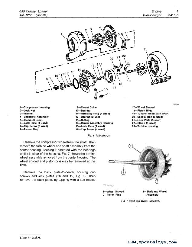 repair manual john deere 655 crawler loader tm1250 technical manual pdf - 5