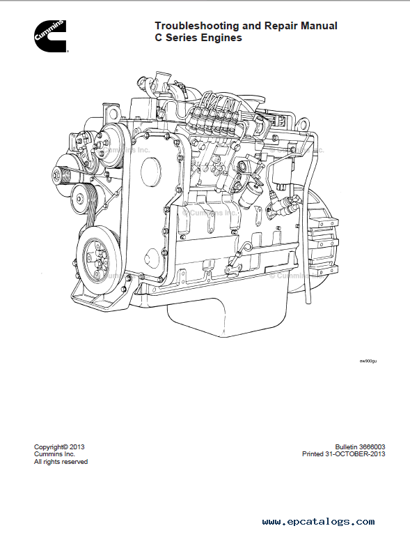 Download Cummins C Series Engines Troubleshooting Repair