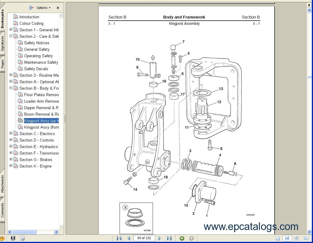 Wiring Diagram For Jcb Forklifts Control Free Download Grg Series Electronic Excavator Service Manuals S1