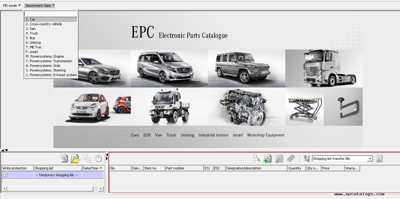 parts catalog mercedes ewa epc net 2017 electronic parts catalog 2. Cars Review. Best American Auto & Cars Review