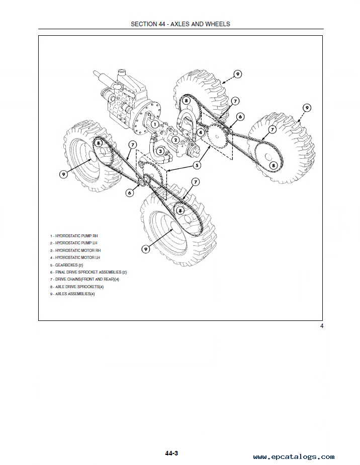 New Holland L175 Amp C175 Loaders Repair Manual Pdf