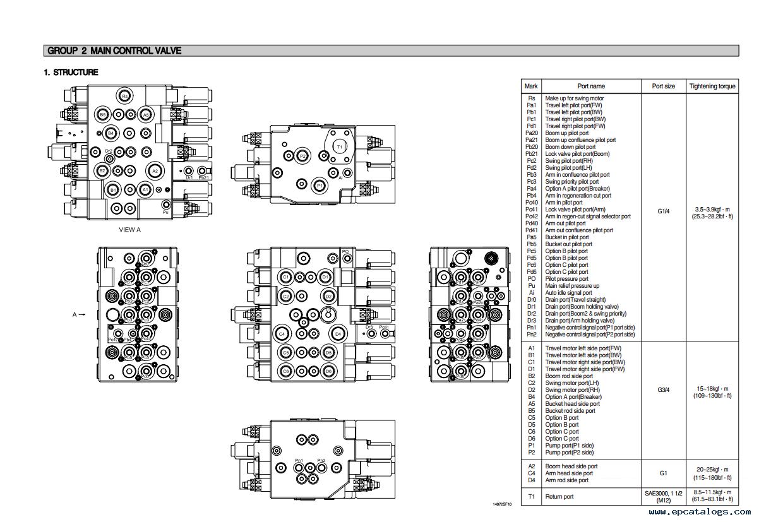 repair manual Hyundai R110-7 Crawler Excavator Service Manual - 2
