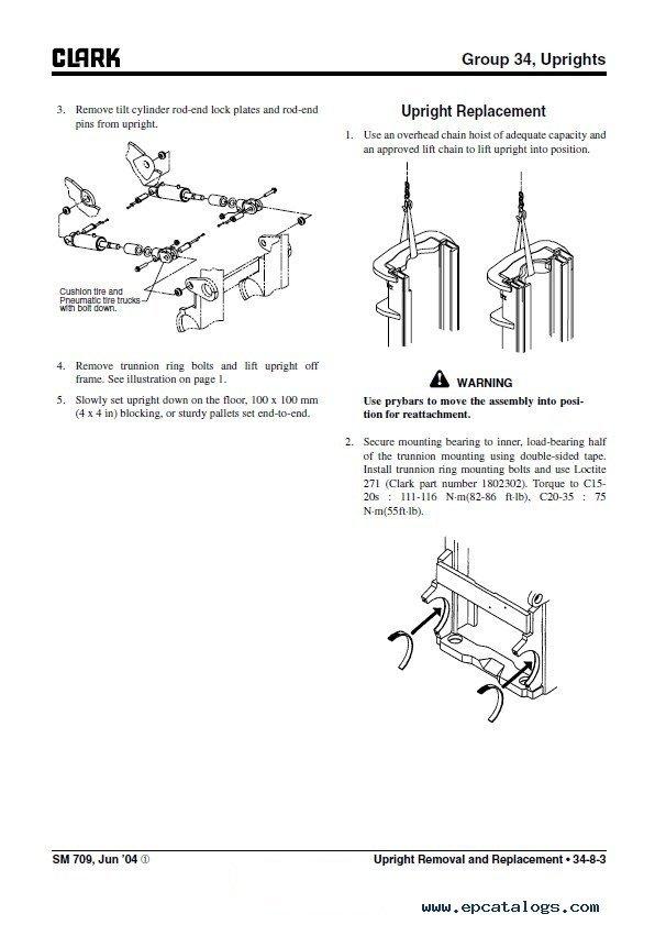Clark C15 35 D L G Amp C15 32c L G Sm709 Pdf Manual