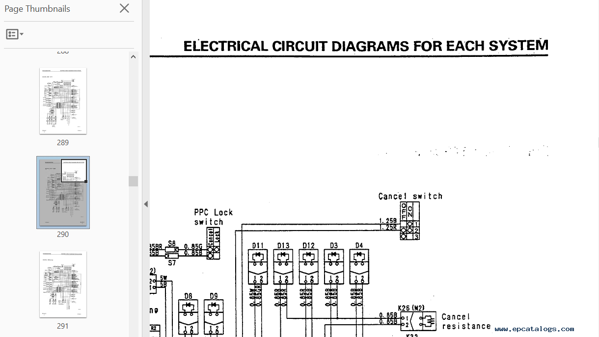 Komatsu Fg30ht 12 Wiring Diagram Best Books Resources Repair Manual Hydraulic Excavator Pc50uu 2 Serial 8001and Up Shop