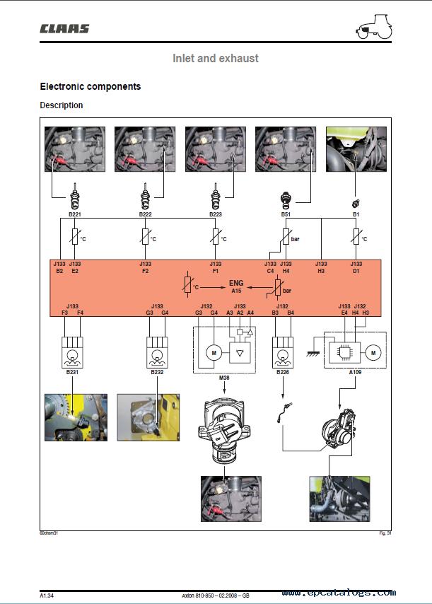 hydraulic schematic claas renault axion 810 820 830 840 850 tractor pdf manual