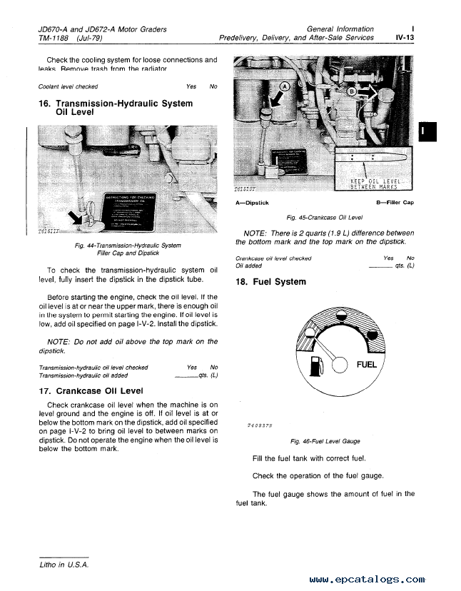 John Deere 670A, 672A Motor Grader Repair TM-1188 PDF on john deere b accessories, john deere b alternator conversion, john deere b parts diagram, john deere z225 wiring-diagram, john deere b starter diagram, john deere model b diagram, john deere 445 wiring-diagram, john deere lawn tractor electrical diagram, john deere tractor wiring, farmall wiring diagram, john deere b clutch diagram, john deere b fuel system, john deere 345 wiring-diagram, john deere b coil, john deere b carb diagram, john deere 325 wiring-diagram, john deere 4440 electrical diagram, john deere b transmission diagram, allis chalmers d14 wiring diagram, john deere b engine diagram,