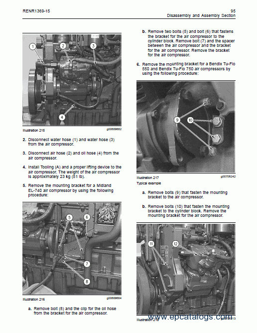 Caterpillar 3126b And 3126e On Highway Engines Service Manual