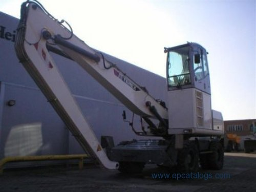 Terex Atlas Tm200 Excavator Service Manual Download