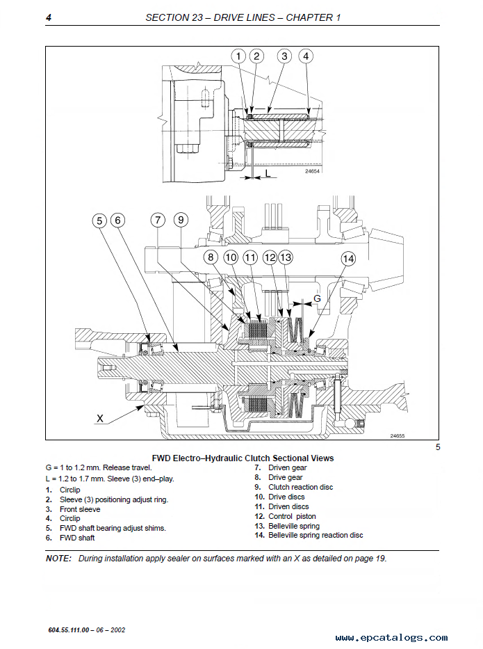 New Holland Series Tm Tractors Workshop Manual Pdf