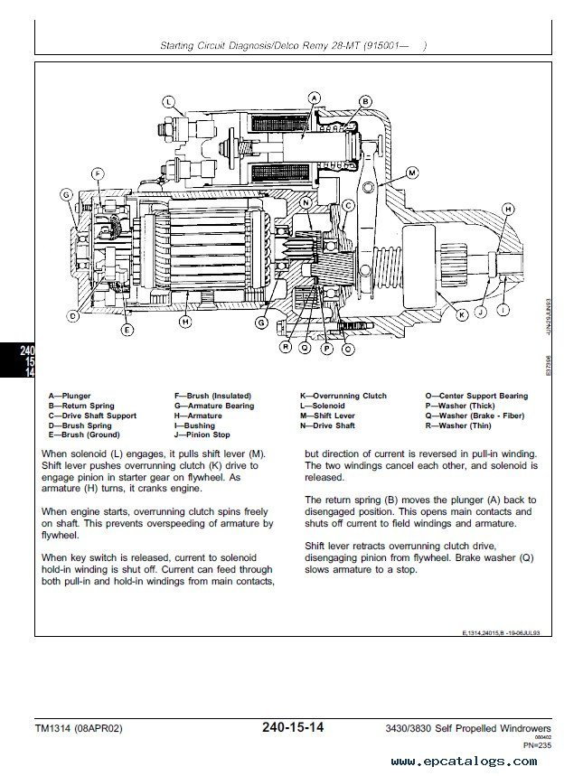 john deere 3430 3830 self propelled windrower tm1314 technical enlarge repair manual john deere 3430 3830 self propelled windrower tm1314 technical manual pdf 3 enlarge