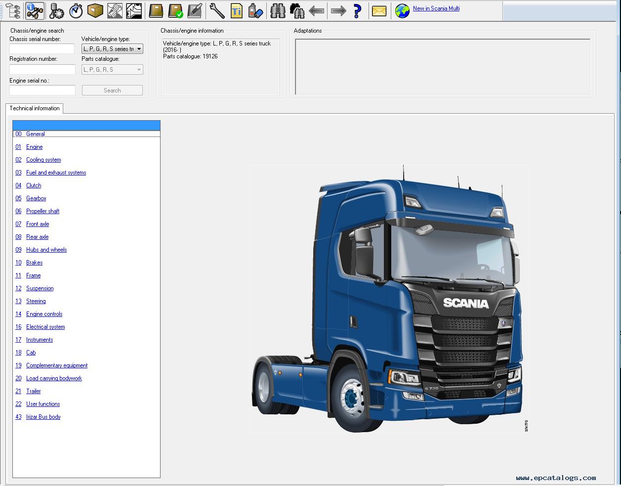 scania multi 1803 2018 parts and service information rh epcatalogs com Scania V8R Stream Line