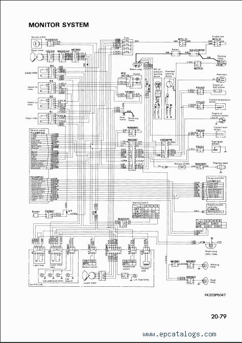 komatsu hydraulic excavator pc120-5k, pc130-5k, pc150-5k ... komatsu sk 714 wiring diagram