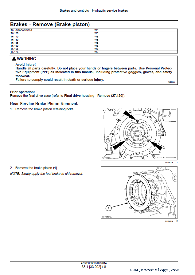 New Holland T6 Series Tractors Service Manual Pdf