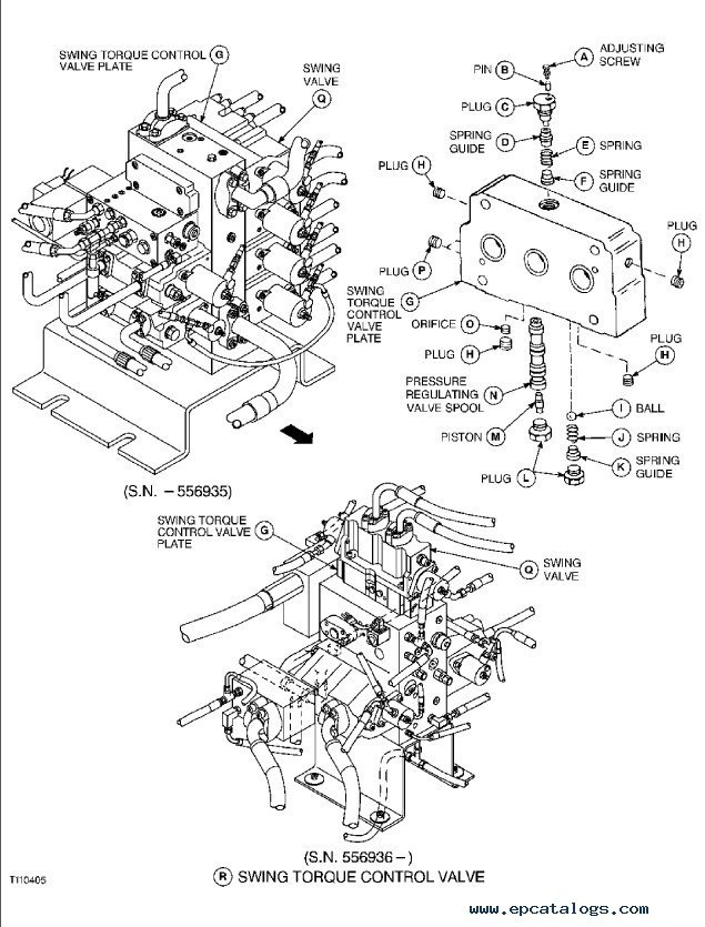 john deere wiring harness diagram 690e lc john deere 690e lc excavator operation tests tm1508 technical enlarge