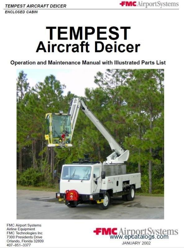 fmc tempest tmp 2 aircraft deicer repair manuals download Starter Generator Wiring Diagram Portable Generator Wiring Diagram