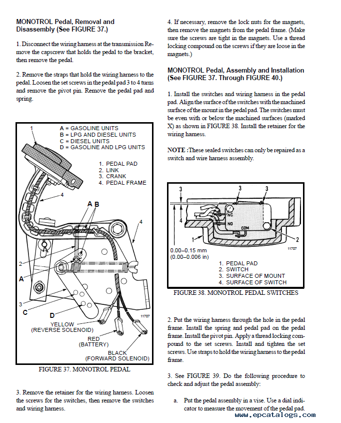 Hyster Class 4 Internal Combustion Engine Truck Pdf Manuals