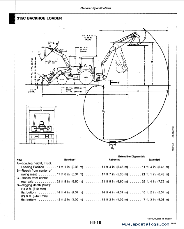 john deere 210c 310c 215c backhoe loader tm1419 pdf